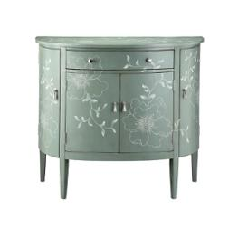 47619 Stein World Accent Furniture Genevieve Demilune Chest