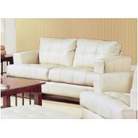 501692 Coaster Furniture Samuel - Cream Living Room Furniture Loveseats