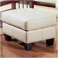 501694 Coaster Furniture Samuel - Cream Living Room Furniture Ottomans