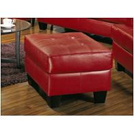 501834 Coaster Furniture Samuel - Red Living Room Furniture Ottomans