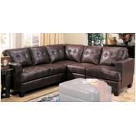 500911b1 Coaster Furniture Samuel - Dark Brown Living Room Furniture Sectionals