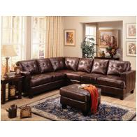 500911ac Coaster Furniture Samuel - Dark Brown Living Room Furniture Sectionals