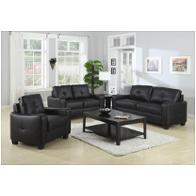 502721 Coaster Furniture Jasmine - Black Living Room Furniture Sofas