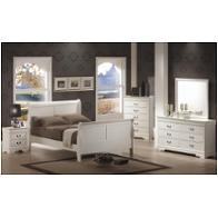 Coaster Furniture Louis Philippe White