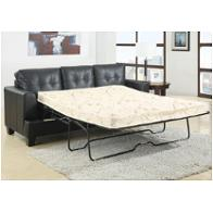 501680 Coaster Furniture Samuel - Black Living Room Furniture Sleepers