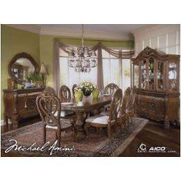 60002t-23 Aico Furniture Eden Dining Room Furniture Dining Tables