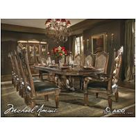 72002t-55 Aico Furniture Villa Valencia Dining Room Furniture Dining Tables