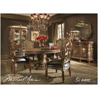 72001t-55 Aico Furniture Villa Valencia Dining Room Furniture Dining Tables