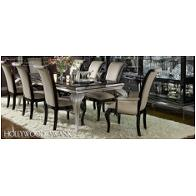 Nu03000t-81 Aico Furniture Hollywood Swank - Starry Night Dining Room Furniture Dining Tables