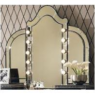 03068rn-81-sn Aico Furniture Hollywood Swank - Starry Night Bedroom Furniture Mirrors