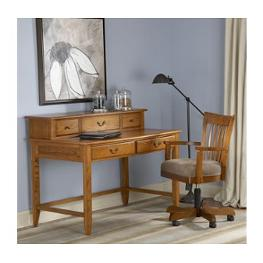 18057 Riverside Furniture Meridian Oak Laptop Desk Deck