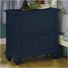 1155n riverside furniture two drawer night stand navy blue