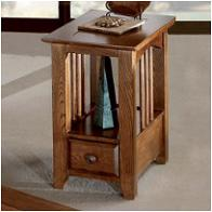 2423 Peters Revington Oak Park Living Room Furniture End Tables