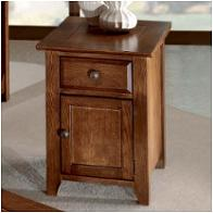 2432 Peters Revington Oak Park Living Room Furniture End Tables