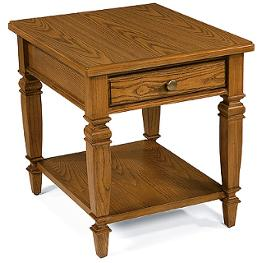 284722 peters revington royal oak living room furniture end table. Black Bedroom Furniture Sets. Home Design Ideas