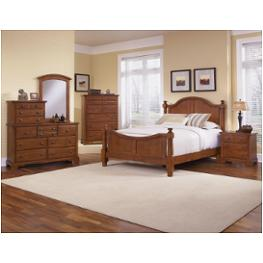 Bb65-559 Vaughan Bassett Furniture Farmhouse - Brandy Pine Bedroom Furniture Beds