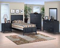 New Classic Furniture Santa Barbara Black