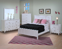 New Classic Furniture Santa Barbara White
