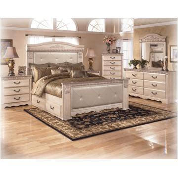 B174 60 Ashley Furniture Silverglade Bedroom Bed Mansion Storage