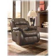 2220025 Ashley Furniture Durablend - Cafe Living Room Furniture Recliners