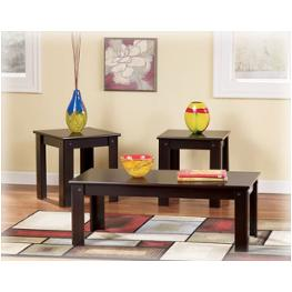 T119-13 Ashley Furniture Emporia Living Room Furniture Occasional Table Set