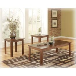 T105-13 Ashley Furniture Yoshi Living Room Furniture Occasional Table Set