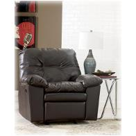 1230025 Ashley Furniture Jordon Durablend - Java Living Room Furniture Recliners