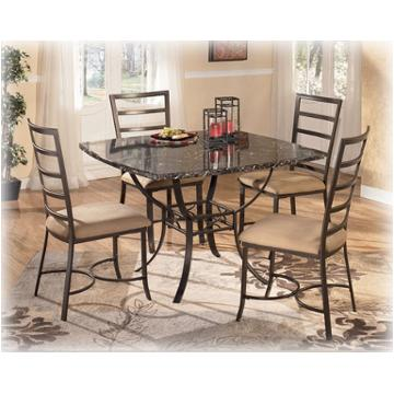 D290 225 Ashley Furniture Mendalin Table Base 4 Side Chairs