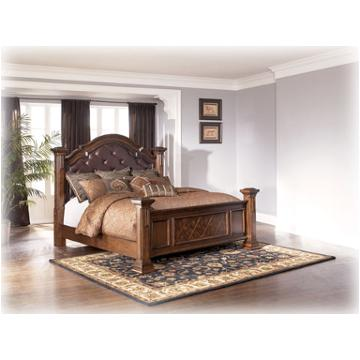 B602 71 Ashley Furniture Wisteria Bedroom Queen Poster Bed