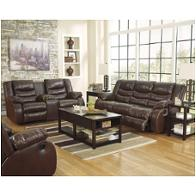 Ashley Furniture Linebacker Durablend Espresso