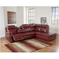 Ashley Furniture Primematic Durablend Crimson