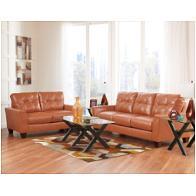 Ashley Furniture Paulie Durablend Orange