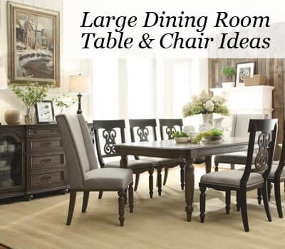Large Dining Room Tables Chairs In New Jersey Ideas