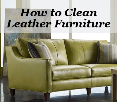 Blog How To Clean Leather Furniture