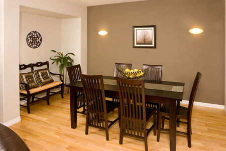 Beautiful Accent Wall In Dining Room Part 64