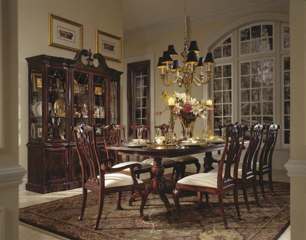 american drew cherry grove dining room set