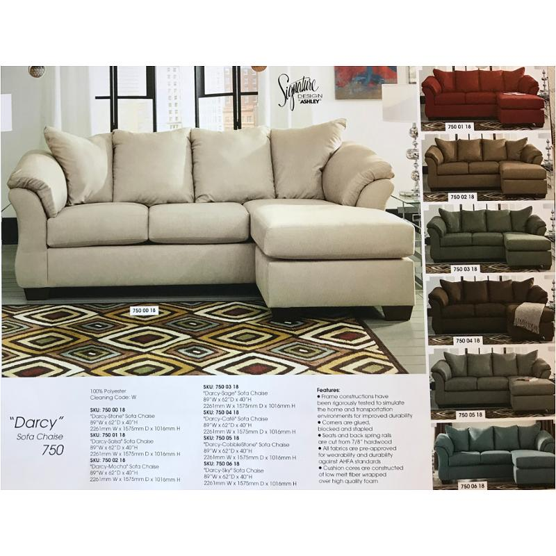 Prime 7500018 Ashley Furniture Darcy Stone Sofa Chaise Clearance Gmtry Best Dining Table And Chair Ideas Images Gmtryco