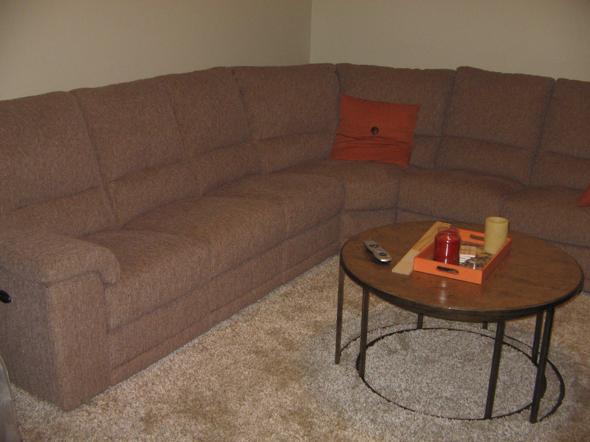 Sectional Reclining Couch