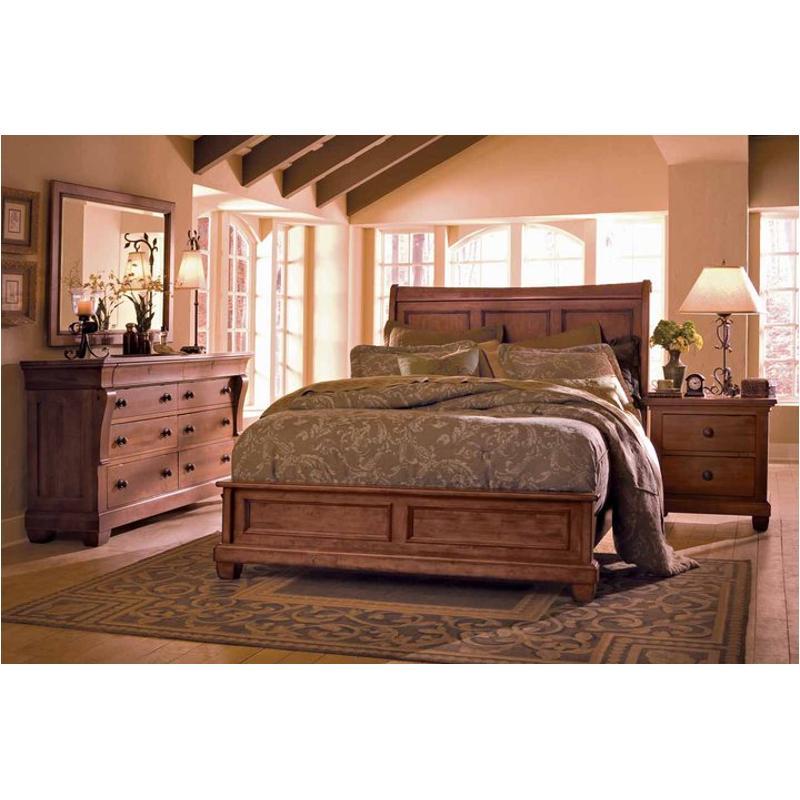 Hv Kincaid Furniture California King Low Profile Bed - Kincaid tuscano bedroom furniture