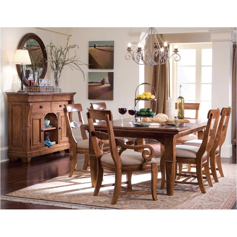 Strange 96 054N Kincaid Furniture Tuscano Refectory Table Beatyapartments Chair Design Images Beatyapartmentscom