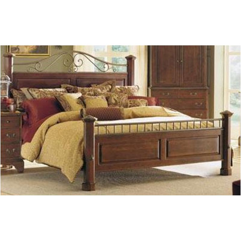 79-137h Kincaid Furniture Brookside Cherry Queen Meadowview Bed