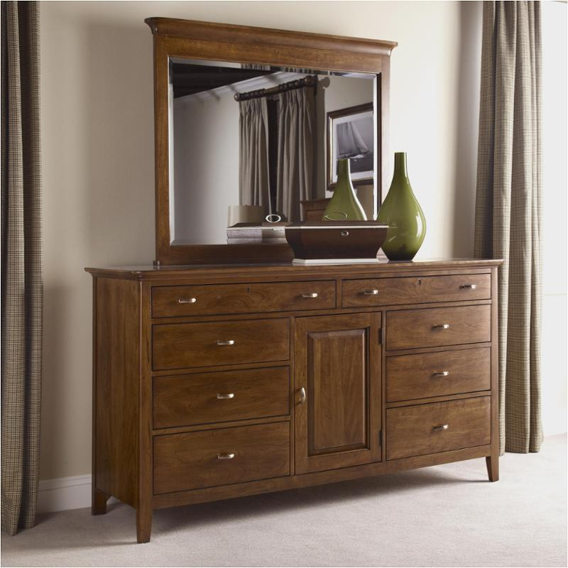 63 160v Kincaid Furniture Cherry Park Bedroom Door Dresser