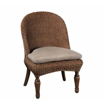 68 065 kincaid furniture seagrass side chair upholstered seat for Kincaid american journal bedroom furniture