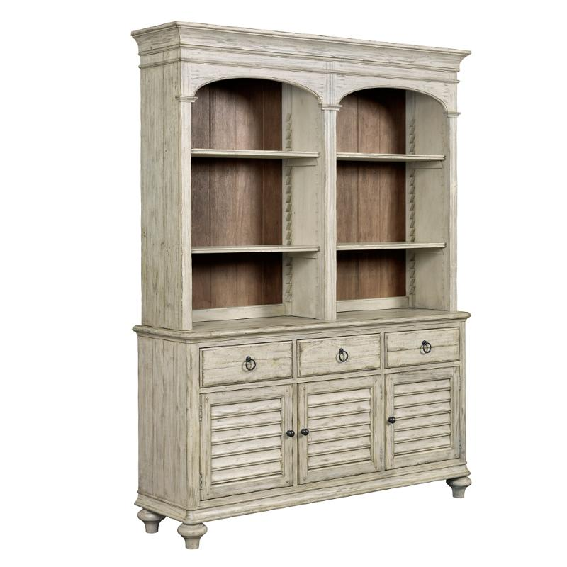 Peachy 75 079 Kincaid Furniture Weatherford Cornsilk Hasting Open Hutch Buffet Home Interior And Landscaping Ologienasavecom