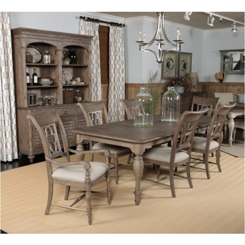 76 054 Kincaid Furniture Weatherford Heather Dining Room Table