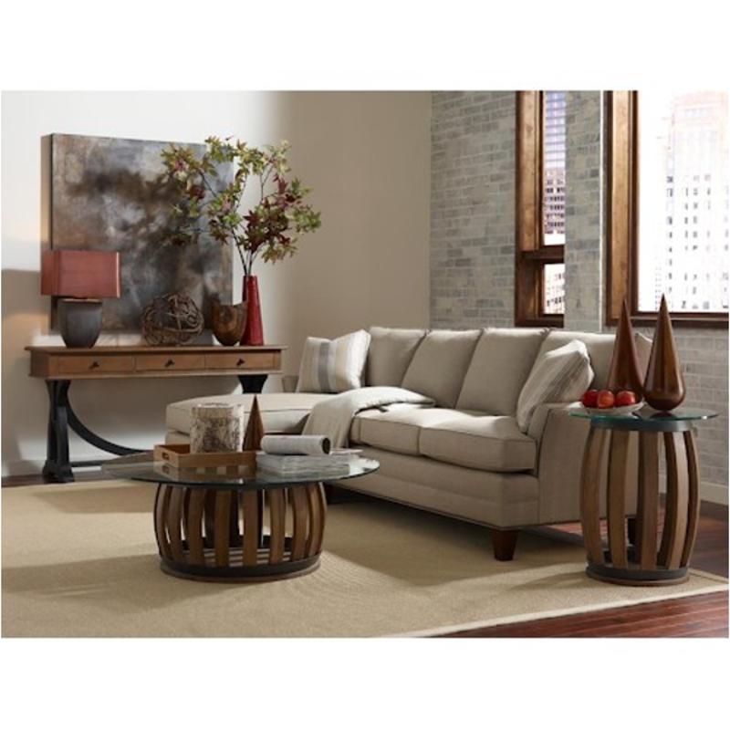 72-020t Kincaid Furniture Wine Barrel Rund Accent Table Top