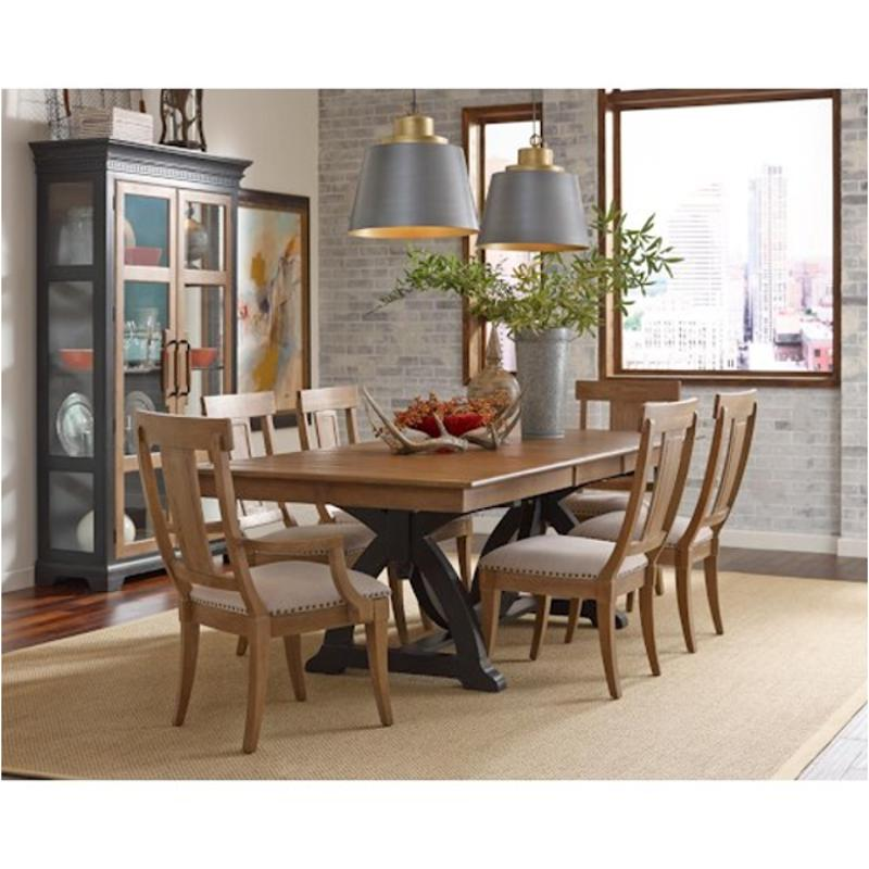 T Kincaid Furniture Stone Ridge Dining Room Trestle Table - 72 trestle dining table