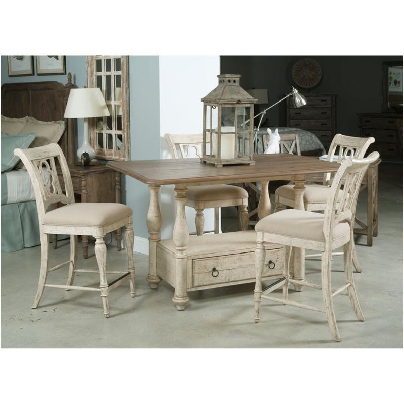 75-058 Kincaid Furniture Weatherford - Cornsilk Tall Gathering Table