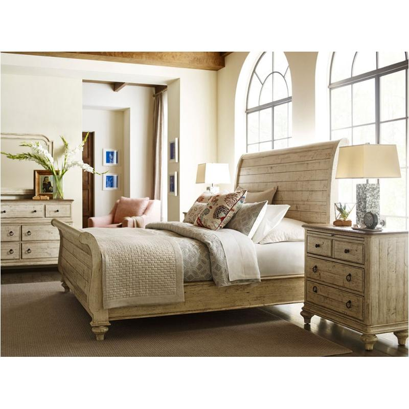 Exceptionnel 75 152h Kincaid Furniture Weatherford   Cornsilk Bedroom Bed
