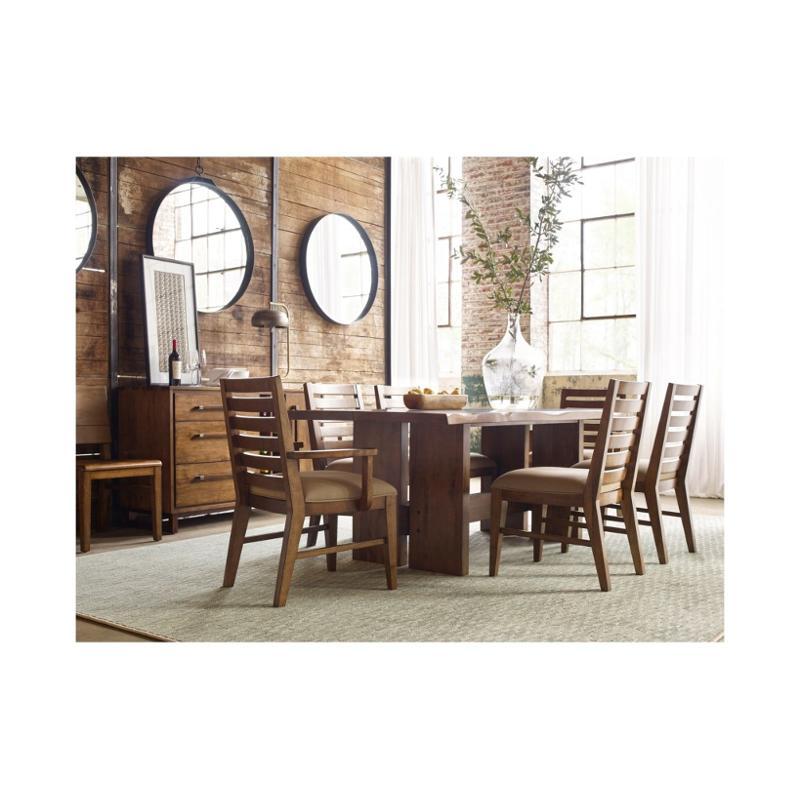 660-744 Kincaid Furniture Traverse Cutler Live Edge Dining Table